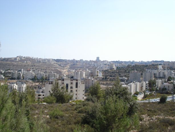 Ramallah in the distance 1