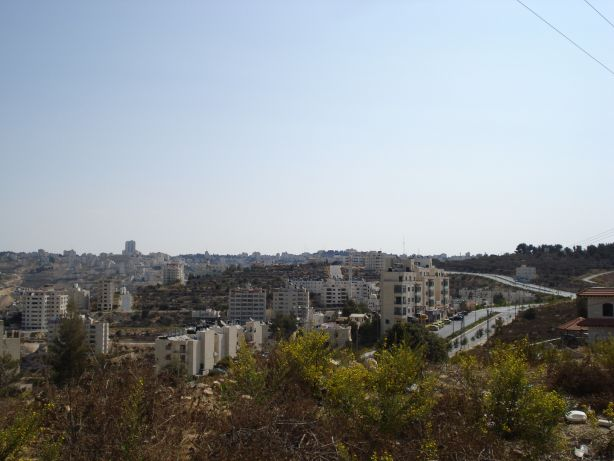 Ramallah in the distance 2