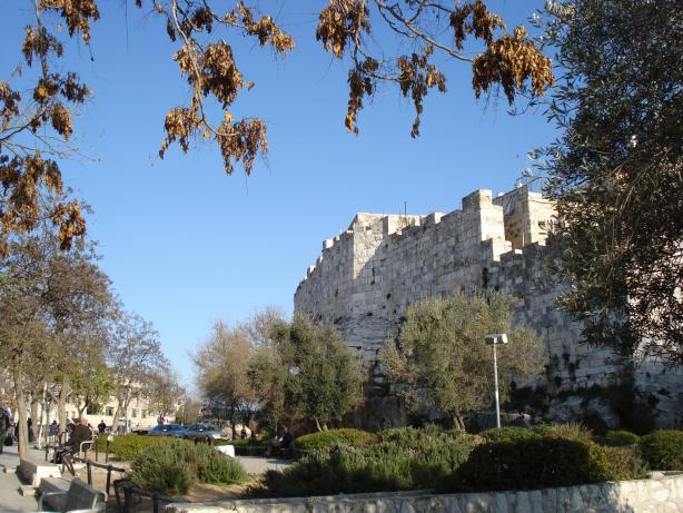 Jerusalem Wall Side