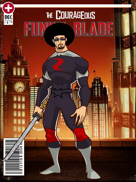 Funky Blade Superhero